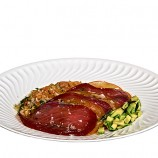 Atun Ahumado con Tomate y Aguacate